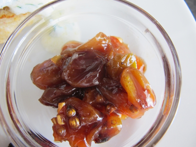 Grape chutney